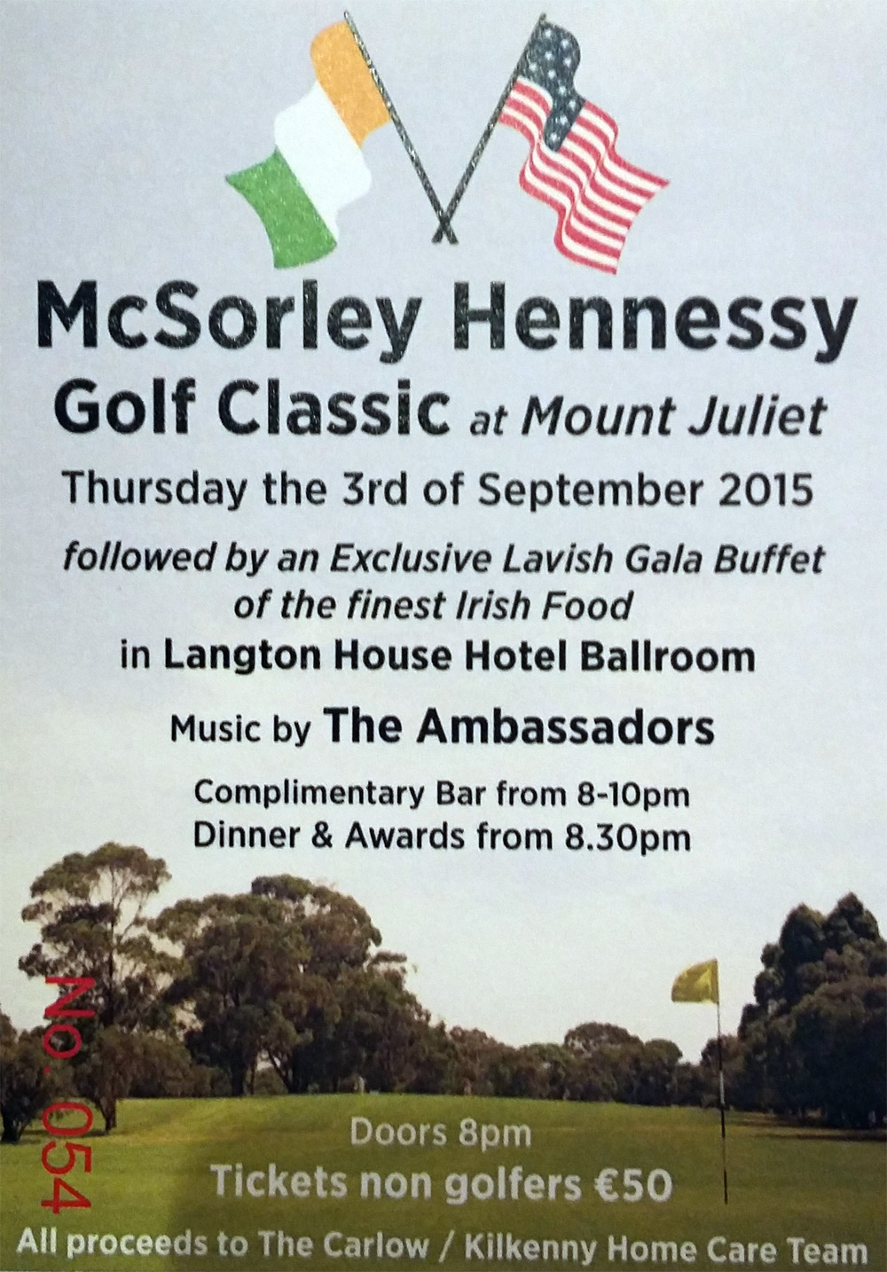 McSorley Hennessy Golf Classic